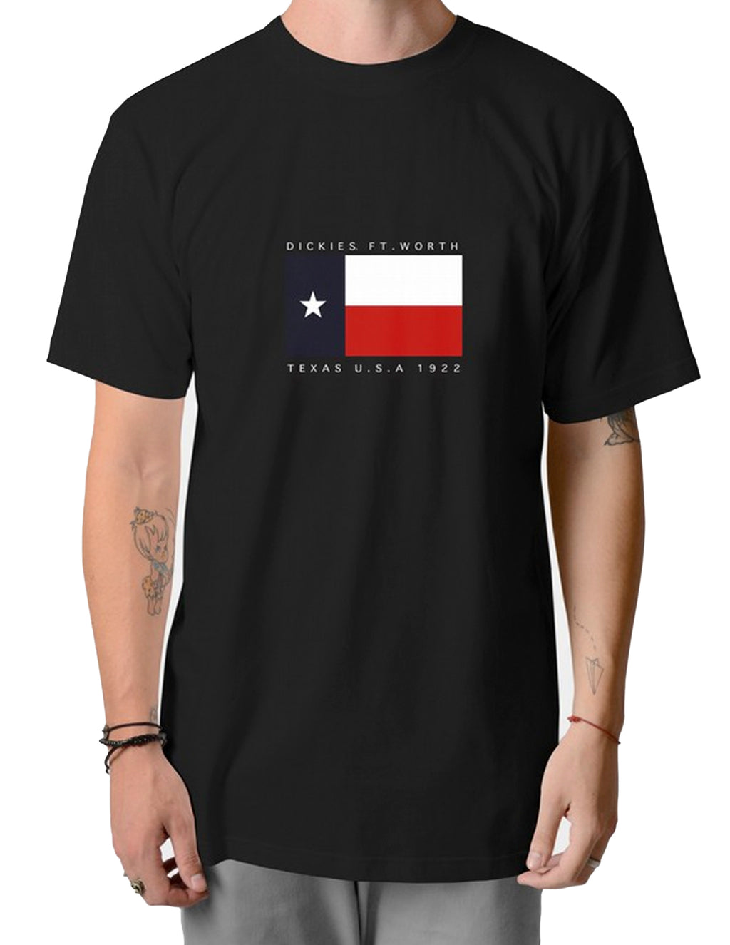Dickies Black K4180124X Texas S/S Tee