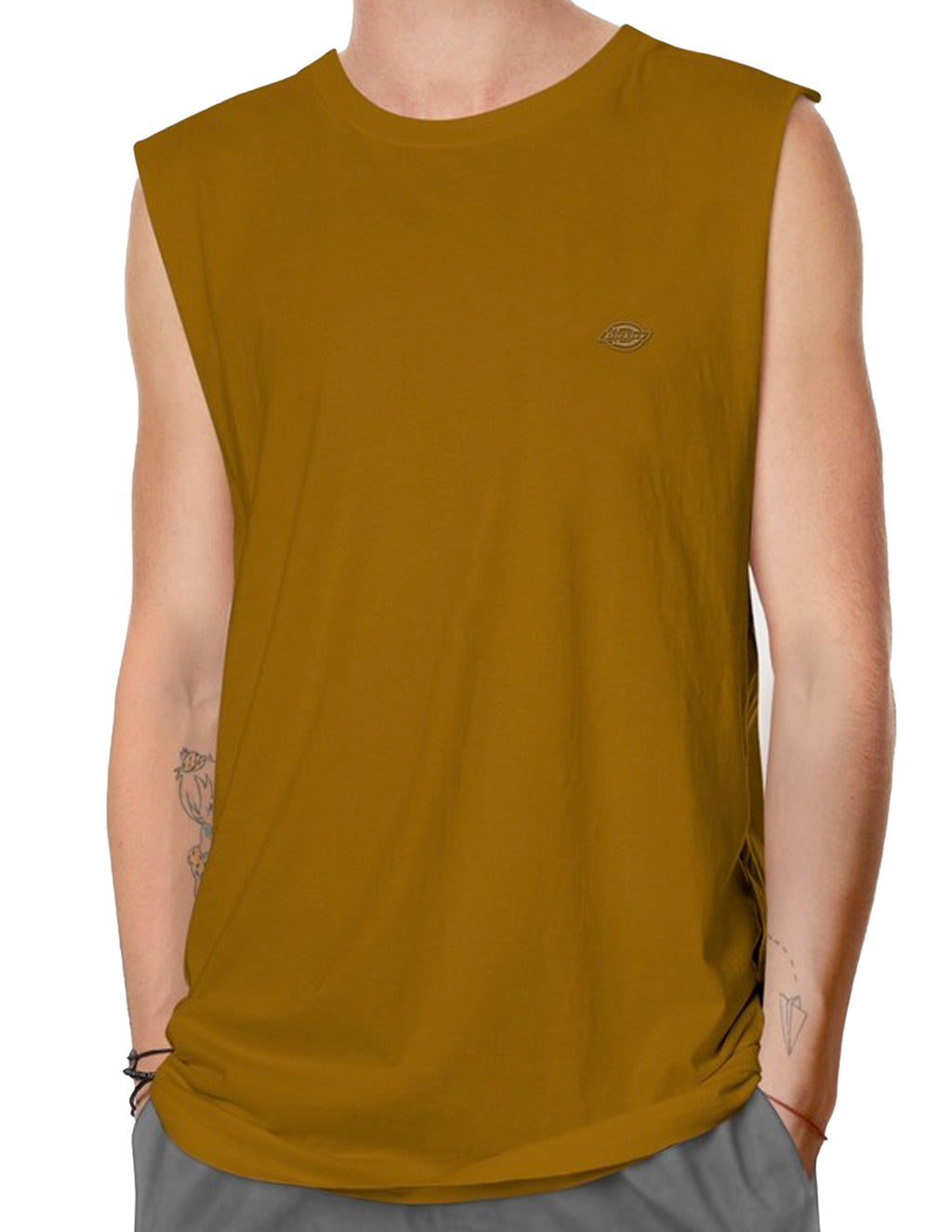 Dickies Brown Duck KU4180409X H.S Maine Muscle Tee