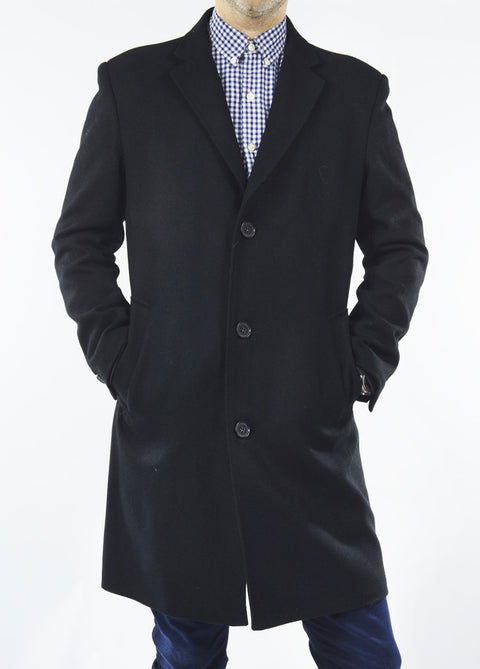 Dion Carlo 3 Button Overcoat