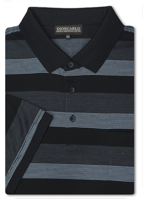 Dion Carlo Luca Double Mercerised Polo