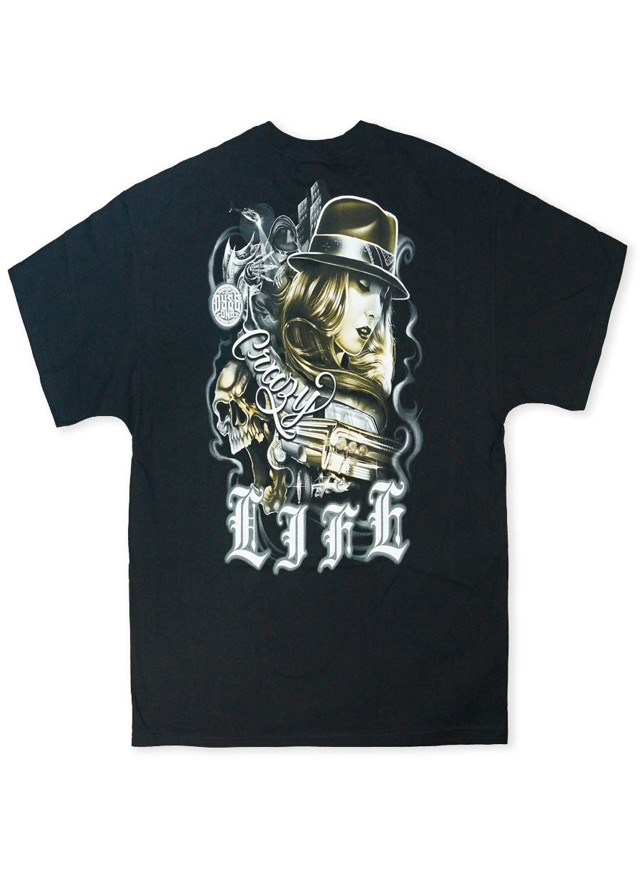 Dyse One Black DOT219B Crazy Life Tee