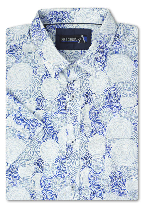 Frederick A Blue Narfolk Shirt