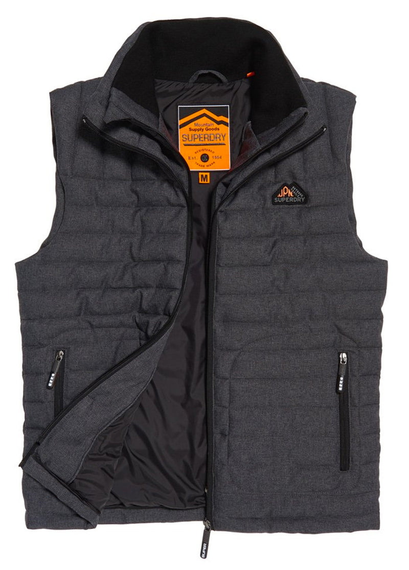 Double Zip Tweed Fuji Vest