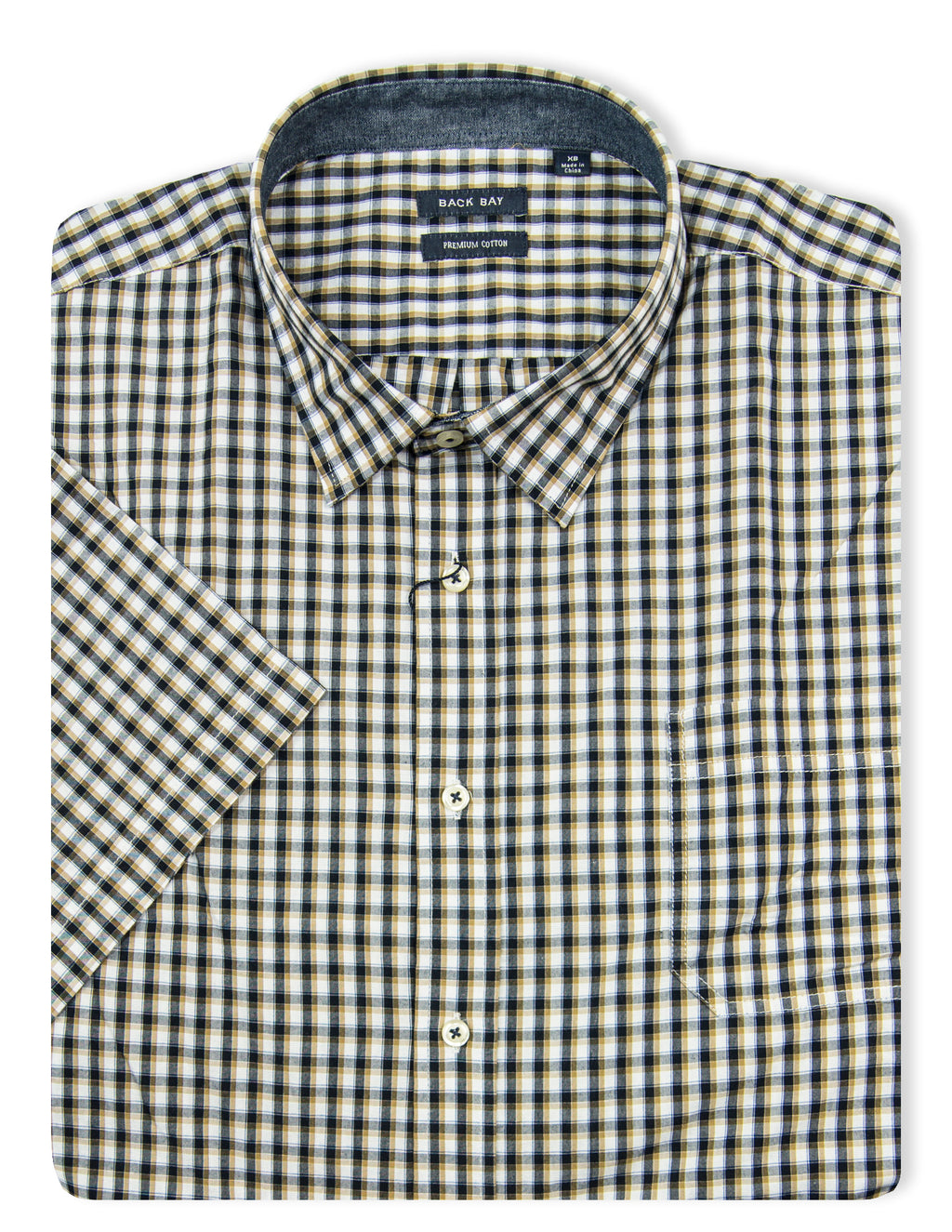 Back Bay Nutmeg G640210XL Cotton S/S Shirt