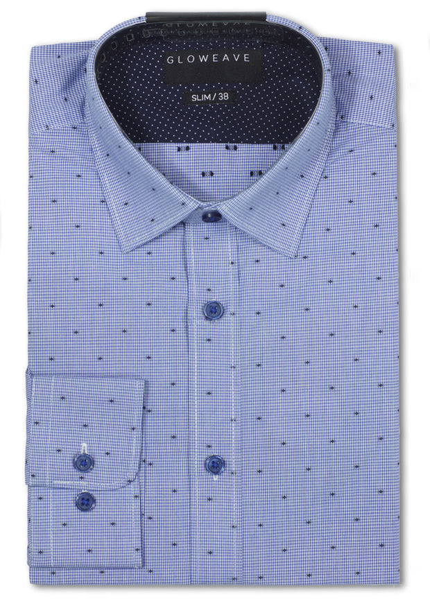 Textured Business Shirt
