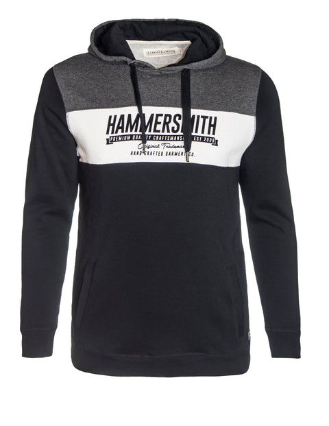 Hammersmith Black 0H81FD Stone Pullover