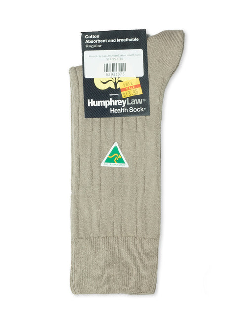 Humphrey Law Antelope Cotton Health Sock