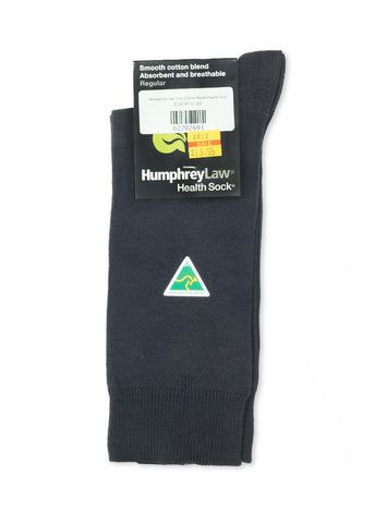 Humphrey Law Grey Cotton Blend Health Sock