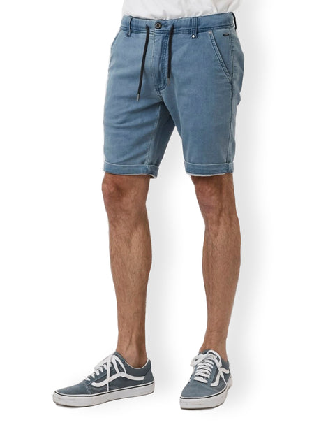 Industrie Chambray MBS23614A Drifter Cuba Short