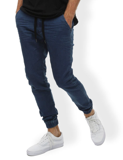 Industrie Mid Indigo MPA23624 The Drifter Chino Pant