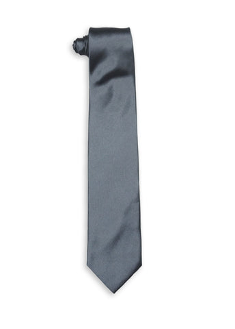 Jean Mercier Extra Long Gun Metal Tie