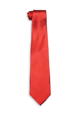 Jean Mercier Extra Long Red Tie