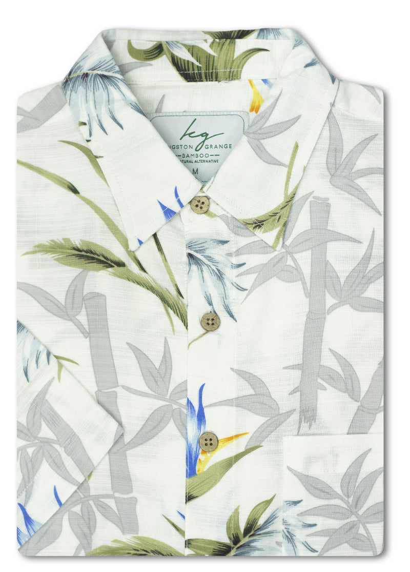 White Fern Bamboo Shirt