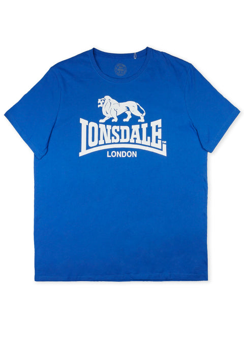 Lonsdale Pacific Sea/White LE503TX Norland Tee