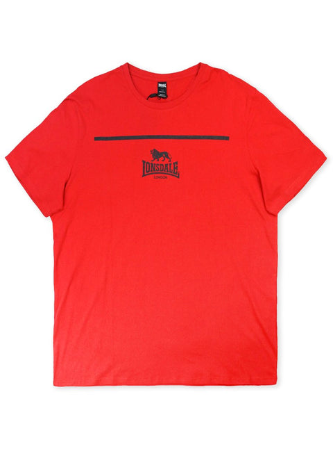 Lonsdale True Red Jama Short Sleeve Tee