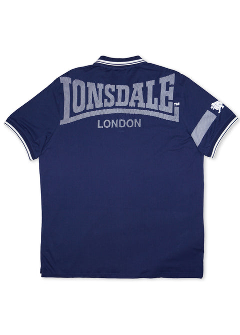 Lonsdale Blue LM16123 Crosston Polo