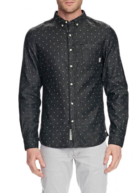 Mossimo Black 0M85SA Amberdale Denim Shirt