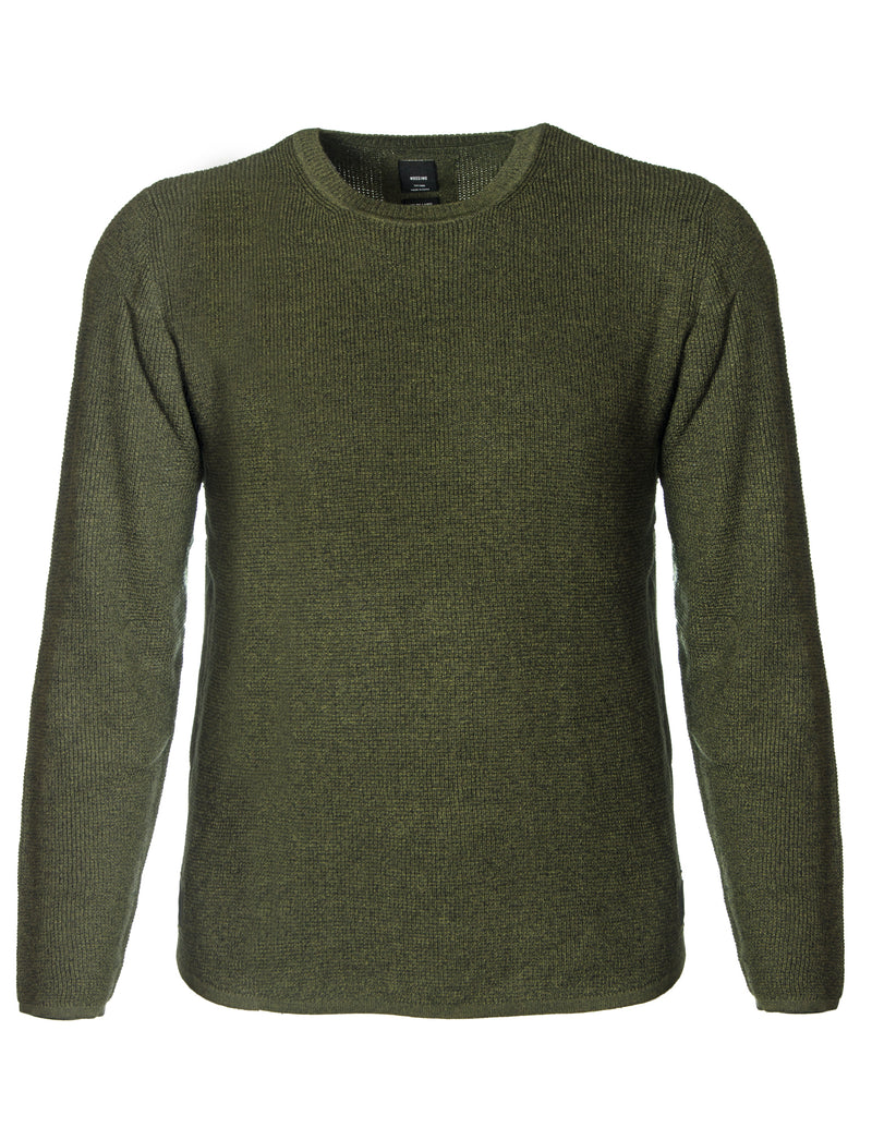 Mossimo Army 0M85K1 Archer Knitted Pullover