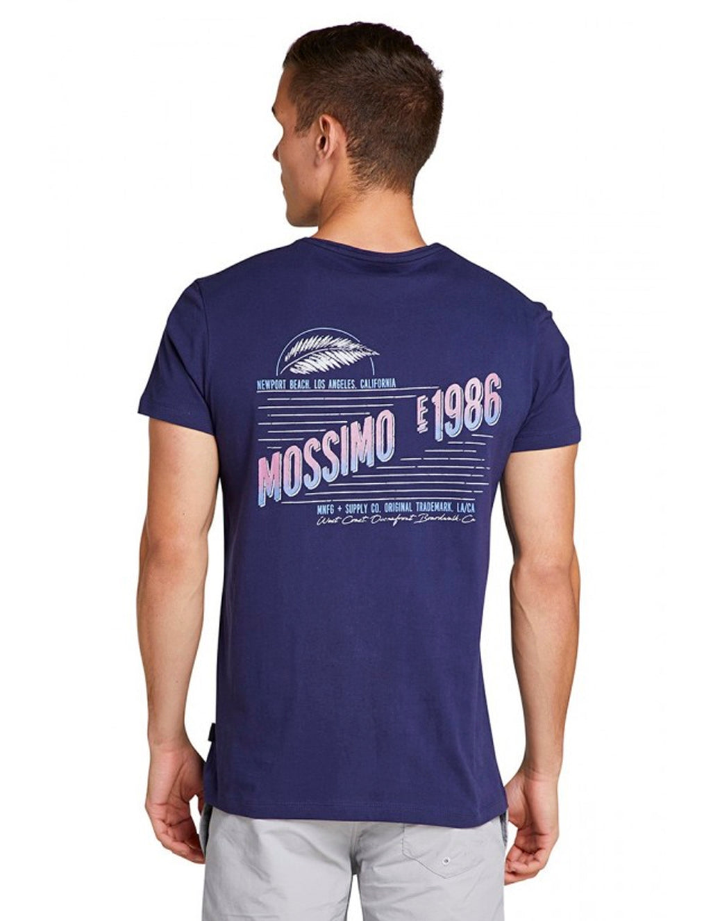 Mossimo Dark Knight 0M82AT LA Shore Longline Crew Tee