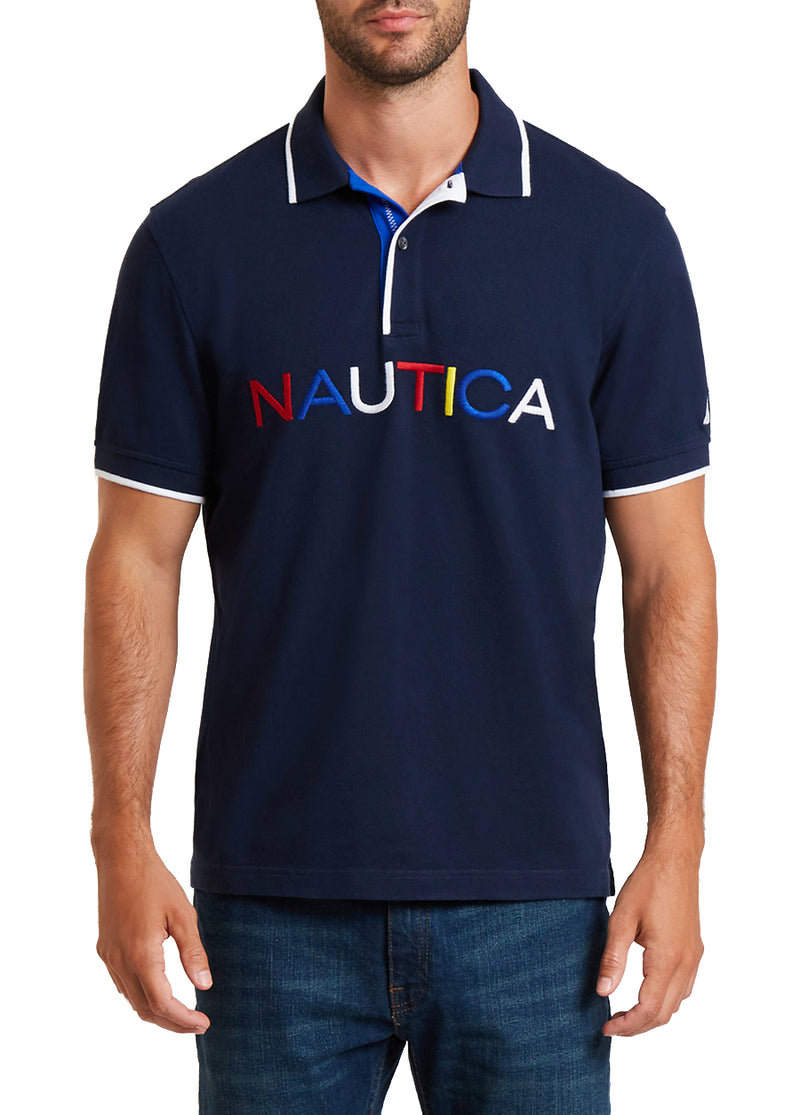 Multi Logo Polo