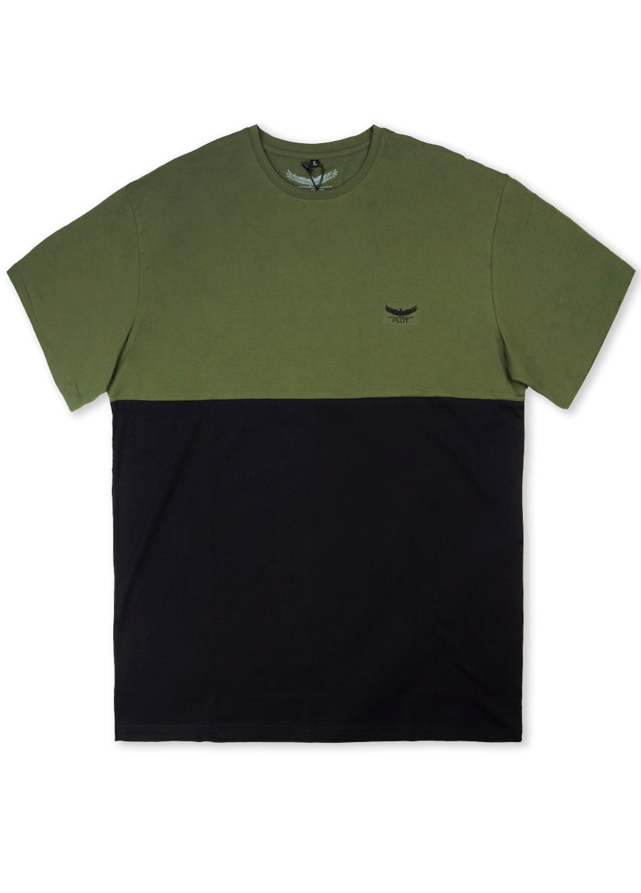Two Tone S/S Tee