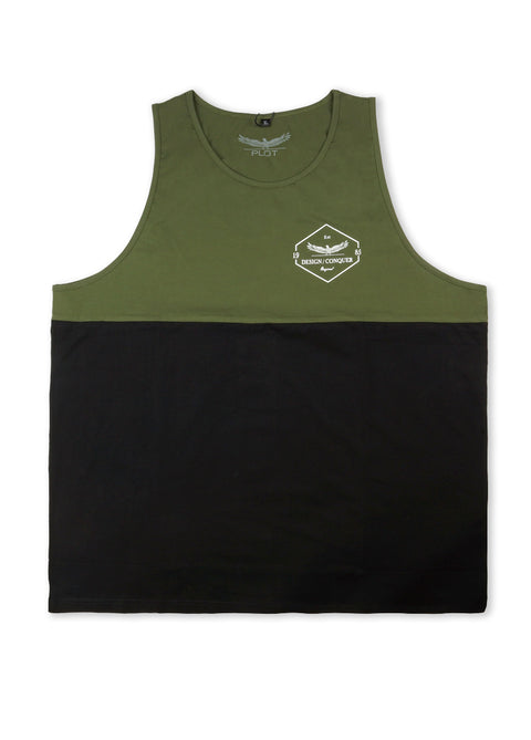 Plot Army Two Tone Tank Top