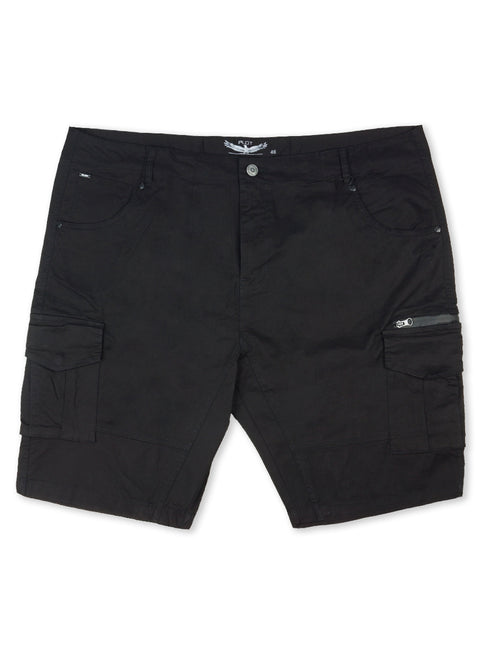 Plot Black B62CS114 Cargo Short