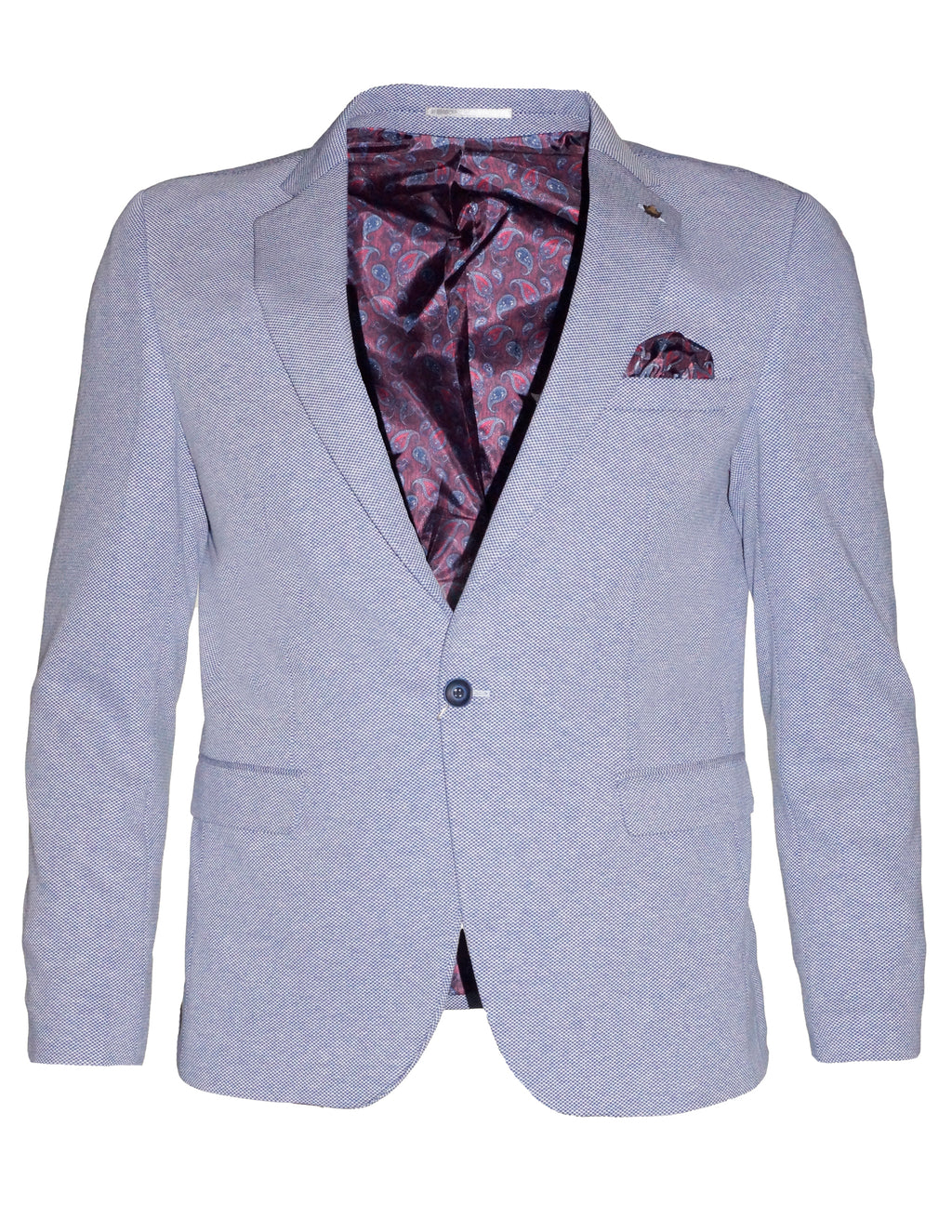 Plot Blue James Blazer