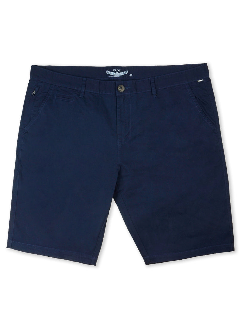 Plot Navy B61CH302 Chino Short