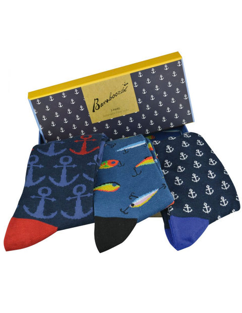 Pussyfoot Assorted Fishing 3 Pack Gift Box