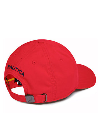Nautica Red 6 Panel Cap