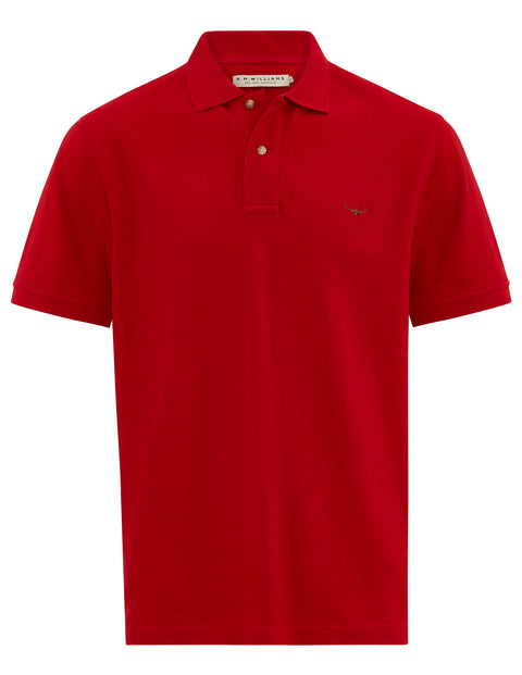 R.M. Williams Crimson Rod Polo