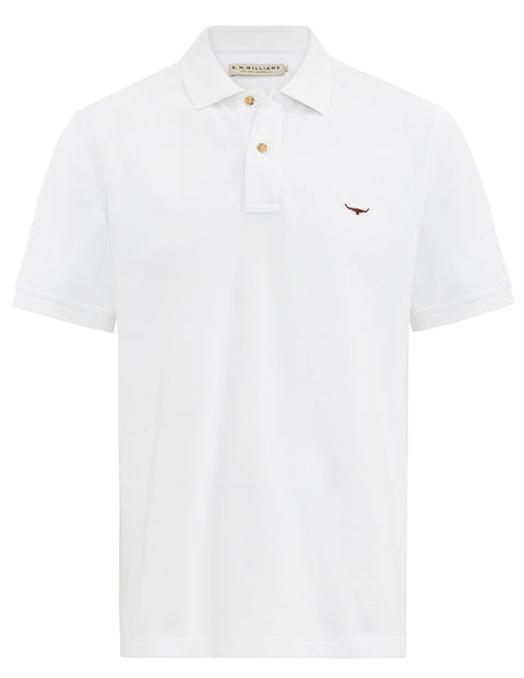 R.M. Williams White Rod Polo