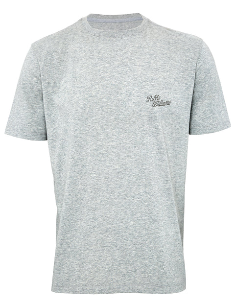 R.M. Williams Grey Marle Longhorn Tee