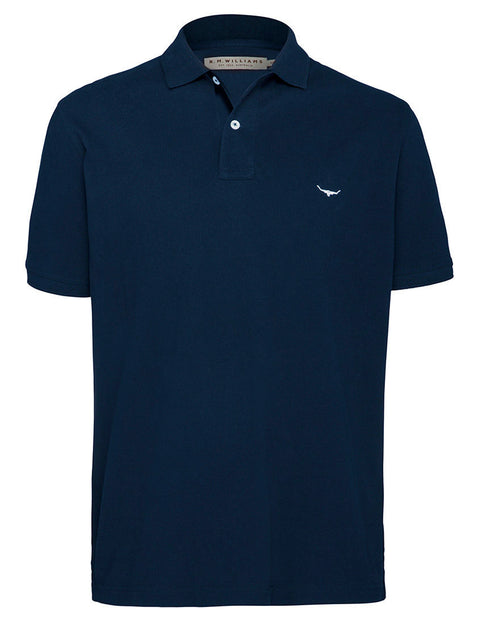 R.M. Williams Navy Rod Polo