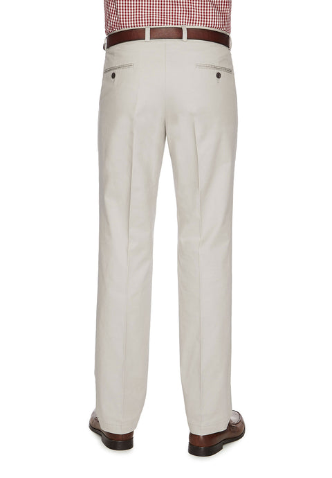City Club Salt Harbour Pebble Slim Fit Casual Pant