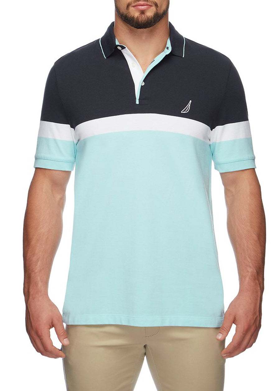 Tech Stripe Polo
