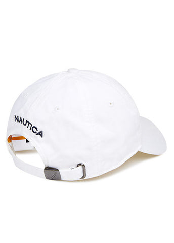 Nautica White 6 Panel Cap