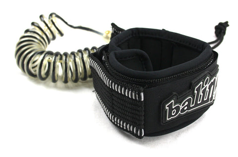 Balin Elbow Coil leash for body boards - Stonker Kiting and Stand Up Paddle inc Red Paddle Co