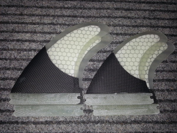 Future carbon quad set fins