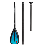 Red Paddle Co Alloy 3 piece Adjustable stand up paddle - Stonker Kiting and Stand Up Paddle inc Red Paddle Co