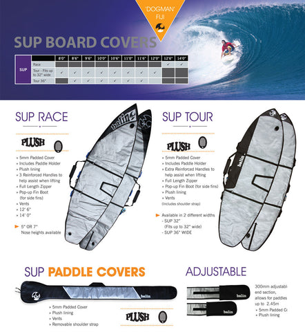 (a) Balin SUP board cover - Stonker Kiting and Stand Up Paddle inc Red Paddle Co