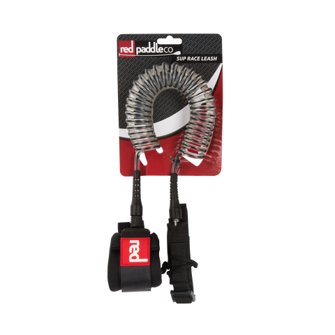 Red Paddle Co SUP coiled flat water leash - Stonker Kiting and Stand Up Paddle inc Red Paddle Co