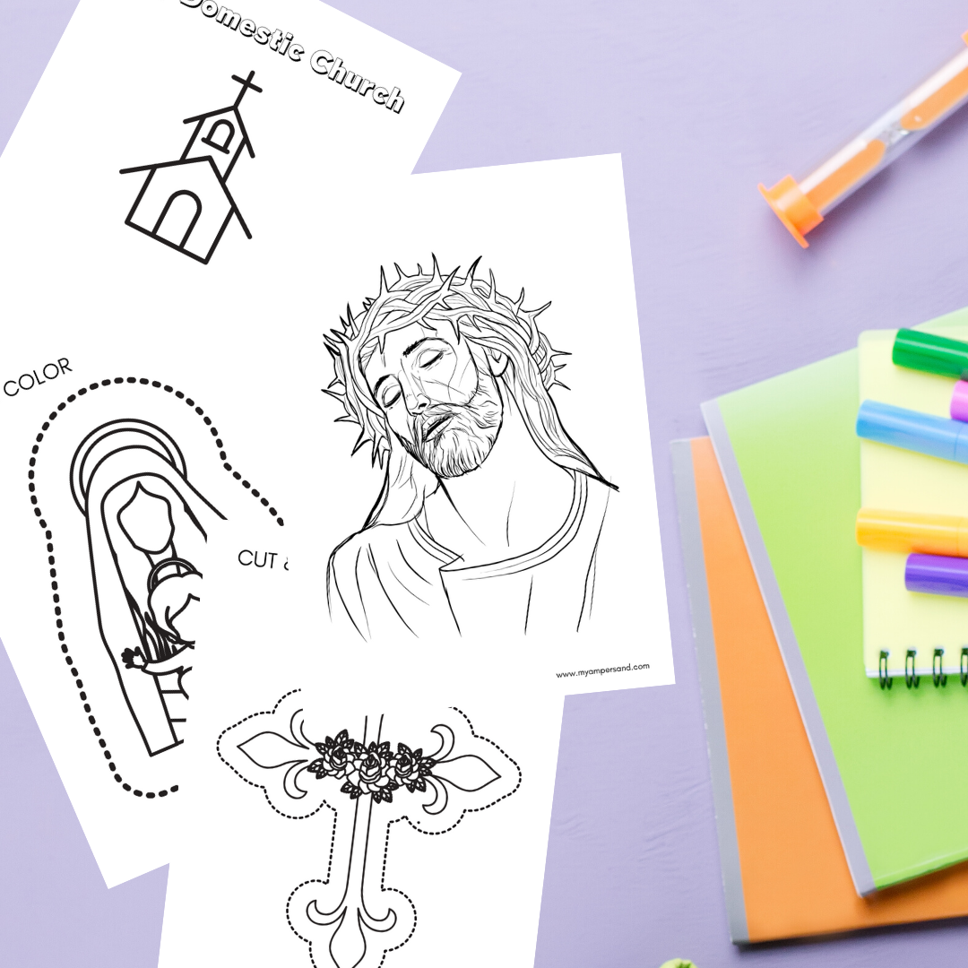 April Coloring Pages | Printable