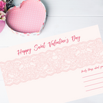 Casual Valentines Place Mat | Printable