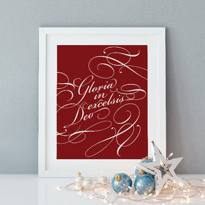 Gloria In Excelsis Deo | Printable