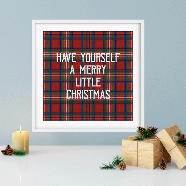 Have Yourself A Merry Christmas Print | Printable