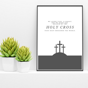 By Your Holy Cross | Printable