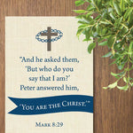 Mark 8 Gospel Verse | Printable