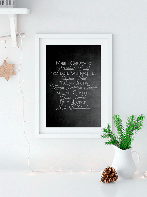Christmas Around The World | Printable